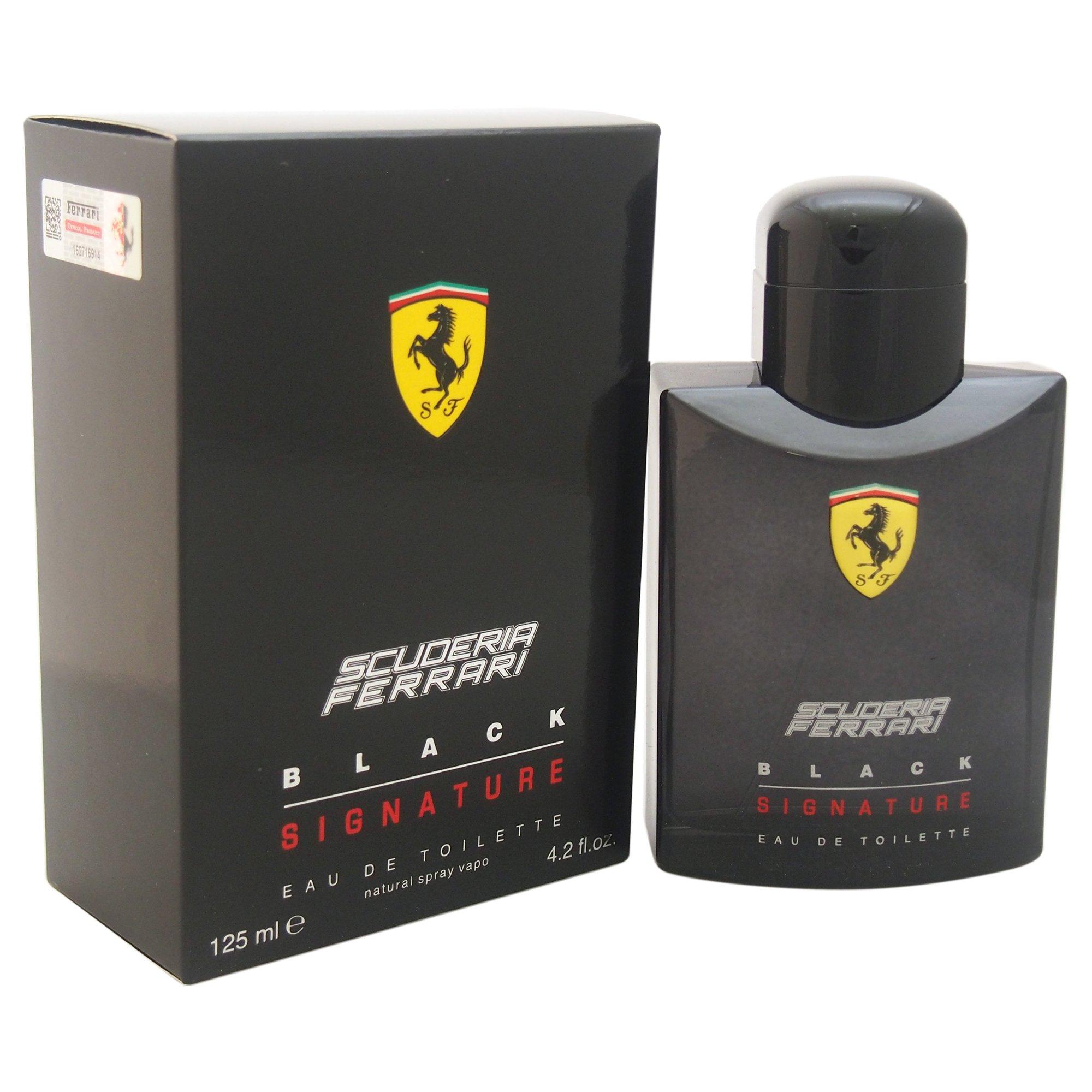 Ferrari Scuderia Black Signature Toilette