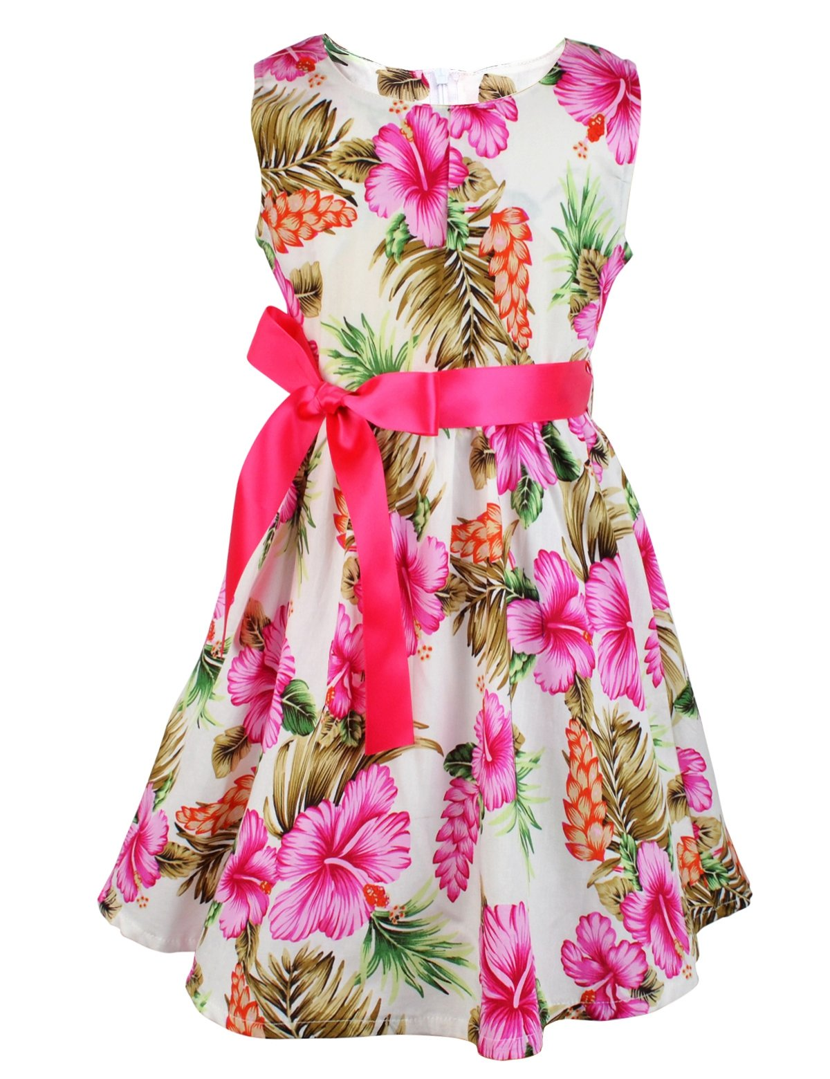 Kid Floral Cotton Girls Dresses Summer Girl Clothes