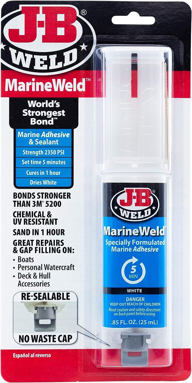 J-B Weld 50172 Colorado Springs Mall Max 87% OFF 25 ml. MarineWeld Syringe