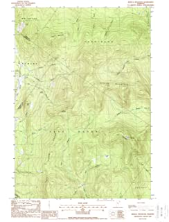 YellowMaps Seneca Mountain VT topo map, 1:24000 Scale, 7.5 X 7.5 Minute, Historical, 1988, Updated 1988, 26.9 x 22 in