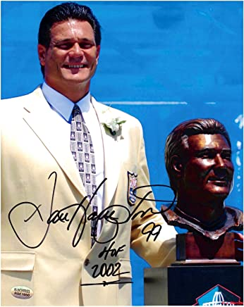 8e79fef5425 Dan Hampton Chicago Bears Autographed 8x10 Football Photo 2 With HOF  Inscription