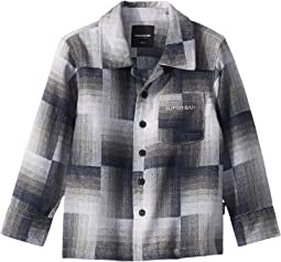 Brody Button Up Long Sleeve Flannel Shirt (Toddler/Little Kids/Big Kids)