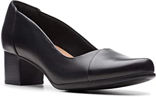 Clarks Flat Shoe for Women, Size 5.5 UK, Black