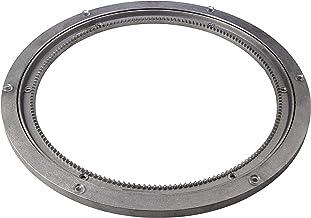 Gedotec Draaischijf voor zware belasting, 360° draaischijf draaibaar Ø 320 mm | Draaitafel staal zilver | Drukkogellager d...