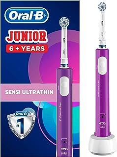 Oral-B 欧乐B Junior 电动儿童牙刷,适合6岁以上儿童使用,紫色
