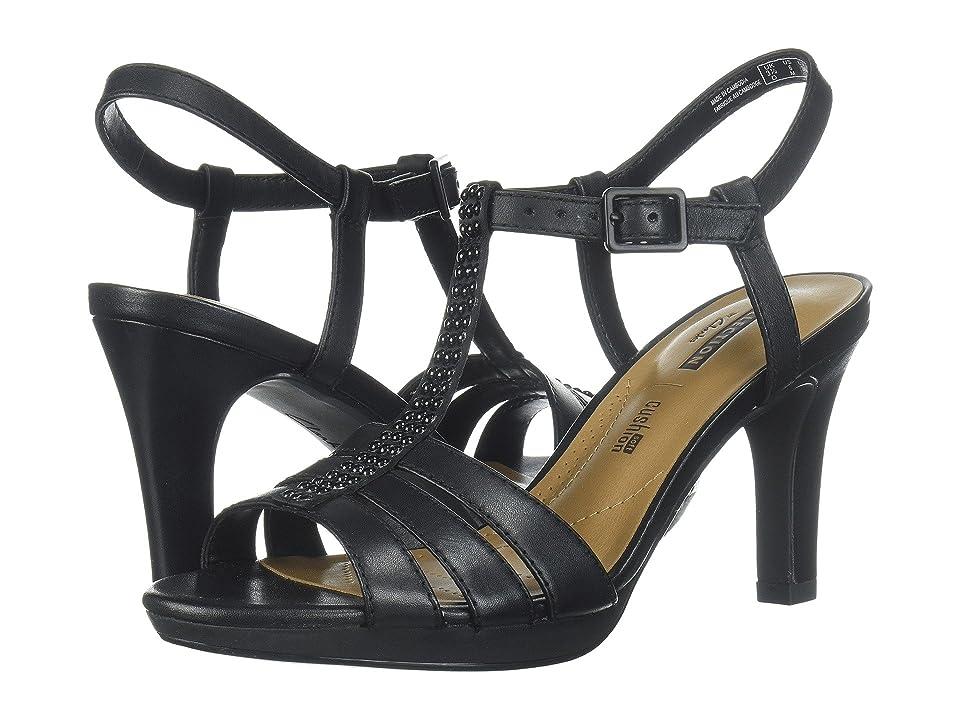 Clarks Adriel Tevis (Black Textile) High Heels