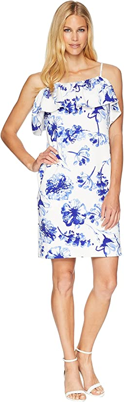 LAUREN Ralph Lauren B599 Texacana Floral Catalia Day Dress