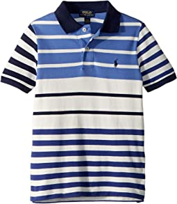 Featherweight Cotton Mesh Polo (little Kids/Big Kids)