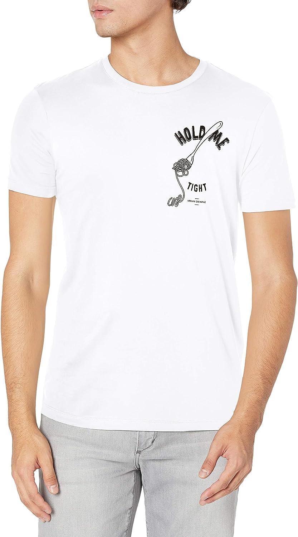 AX Armani Exchange San Max 80% OFF Francisco Mall Graphic T-Shirt Men's