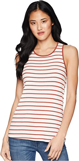 Caris Stripe Twist Tank Top
