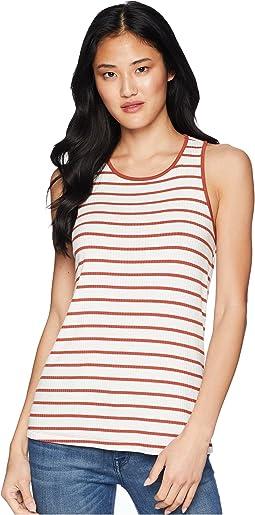 Caris Stripe Twist Tank Top