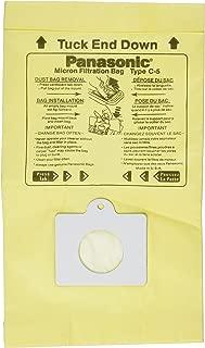 Panasonic C-5 Micron Filtration Vacuum Bags - 3 bags