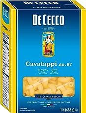 De Cecco Semolina Pasta, Cavatappi No.87, 16 Ounce