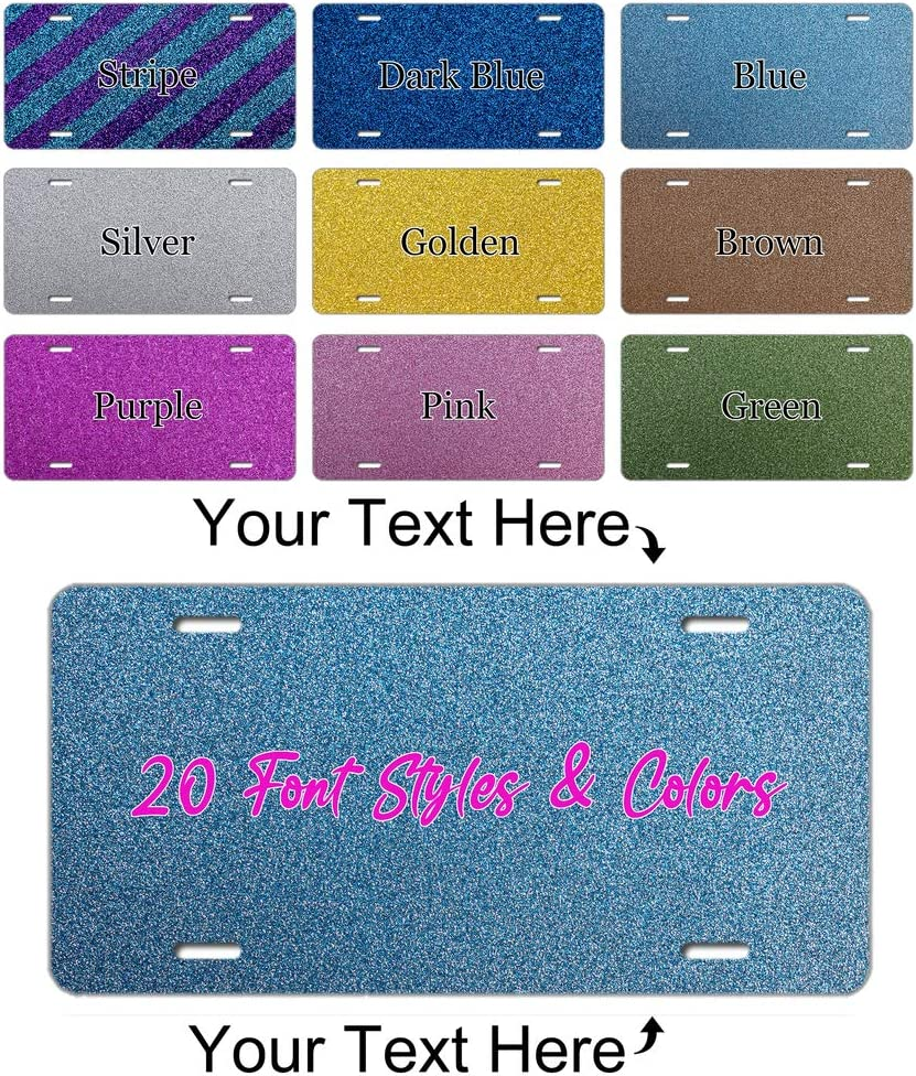 Custom Personalized Glitter Award Texture Sales of SALE items from new works License Your Own Cover Plate