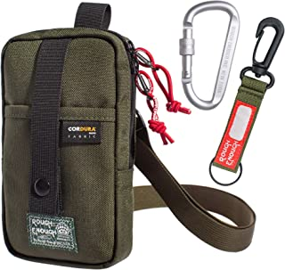 Rough Enough Small Cell Phone Purse Crossbody Bag for Men Shoulder Bag Tactical Pouch
