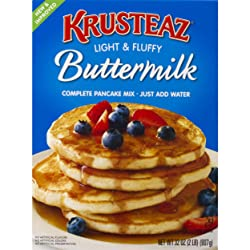 Krusteaz Complete Pancake Mix, Buttermilk, 32 oz