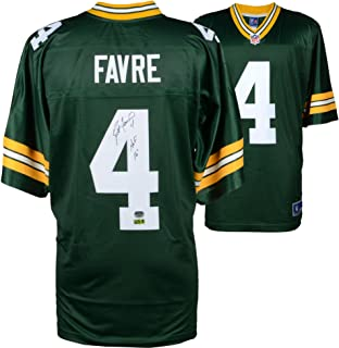 Brett Favre Green Bay Packers Autographed Green Pro-Line Jersey with