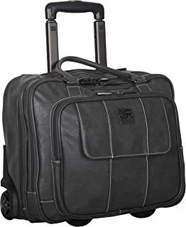 (Charcoal) - Kenneth Cole Reaction Casual Fling Computer Overnighter Travel Totes, Charcoal