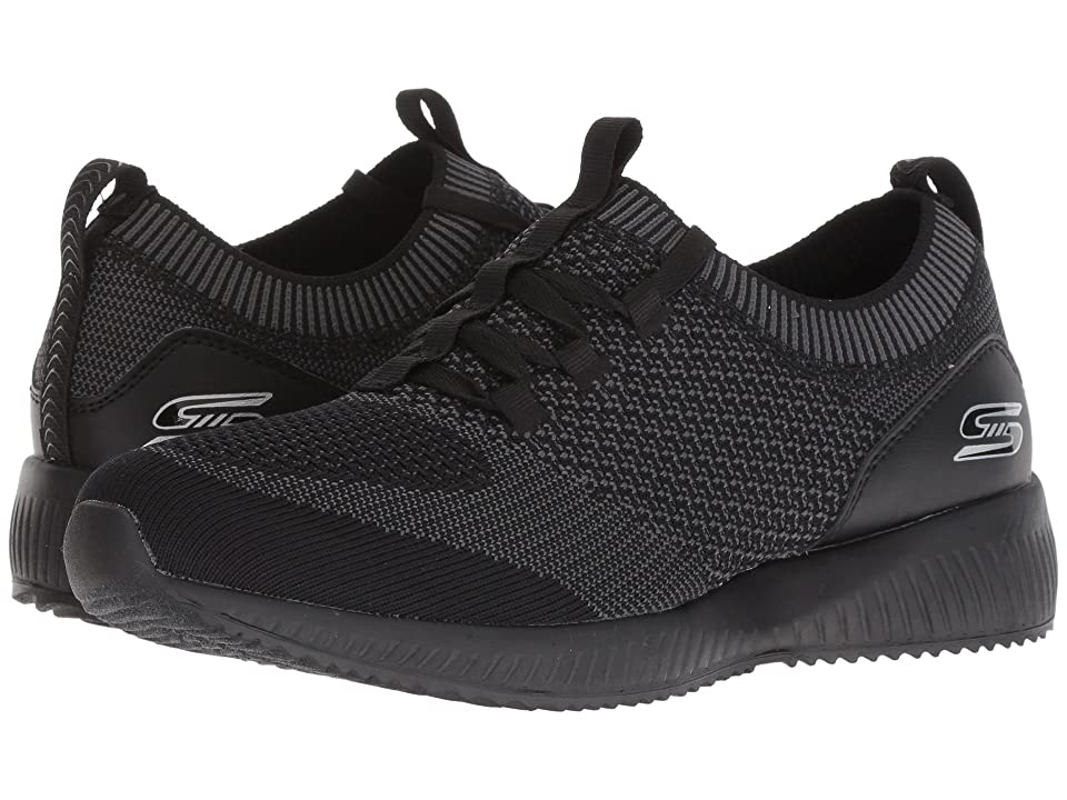 BOBS from SKECHERS Bobs Squad Alpha G (Black/Charcoal) Women