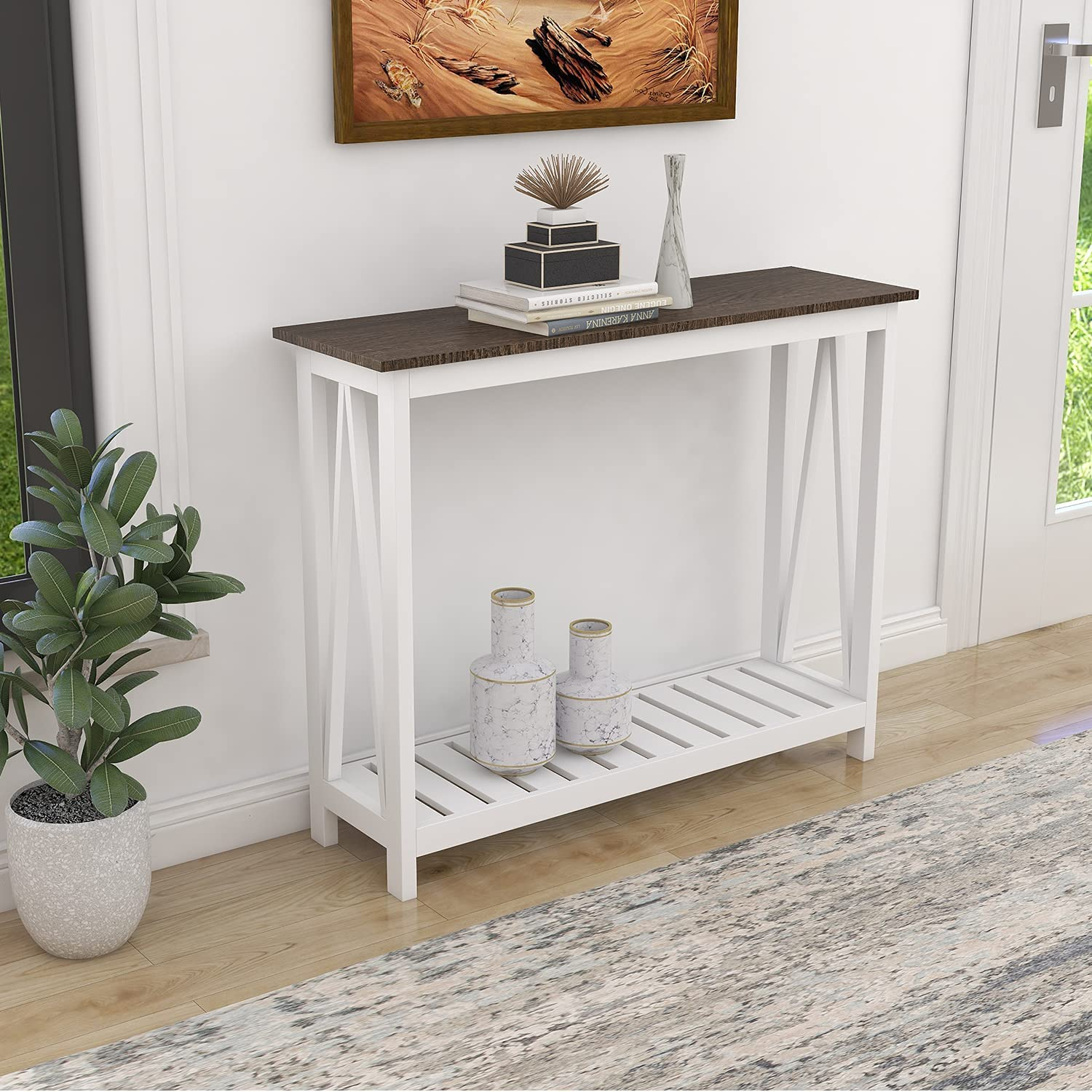 ChooChoo Cheap mail order specialty store Console Table for Entryway Tables Farm Minneapolis Mall Room Sofa Living