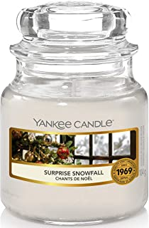 Yankee Candle bougie parfumée | jarre petite | Première Neige | jusqu'à 30 heures de combustion