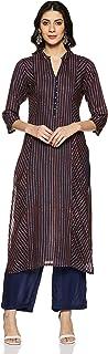 Soch Women's Cotton a-line Salwar Suit Set