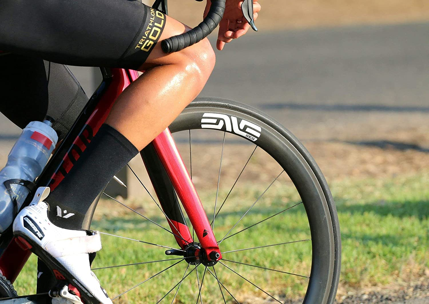 Firm Compression Fit ASPIRE SEVEN Cycling Socks Swiftwick Tall Crew