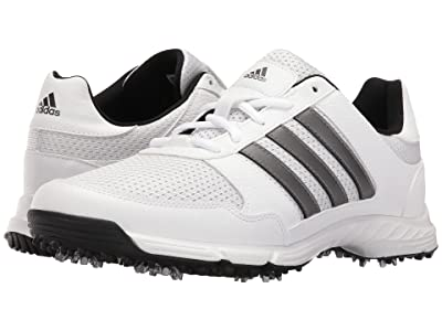 adidas Golf Tech Response (Ftwr White/Dark Silver Metallic/Core Black) Men