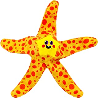 Outward Hound Floatiez Starfish Floating Dog Toy for Water Play - Beach and Pool Fetch Games