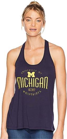 Michigan Wolverines Eco® Swing Tank Top