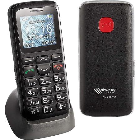 Simvalley Mobile Schnurlos Telefon Komfort Handy Elektronik