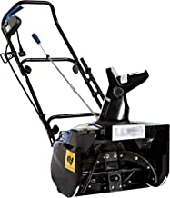 Snow Joe SJ623E-RM Electric Single Stage Snow Thrower   18-Inch   15 Amp Motor   Headlights (Renewed)