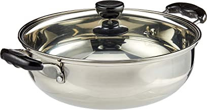 GMI Stainless Steel Steamboat Pan, 30 cm