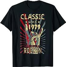 Classic Since 1979 40th Still Rockin Birthday T-Shirt Rock