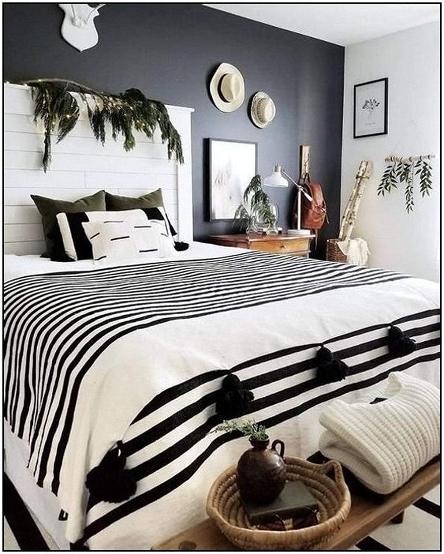Moroccan Blanket White and black 超歓迎された handwoven ☆正規品新品未使用品 tassel Stripes throw