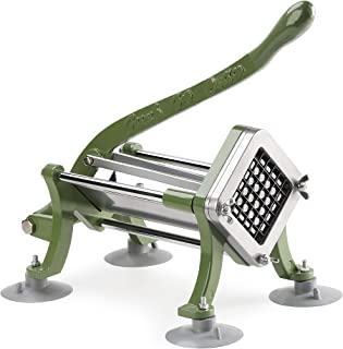 New Star Food Service 42313 Commercial Restaurant French Fry Cutter with Suction Feet, 1/2-Inch