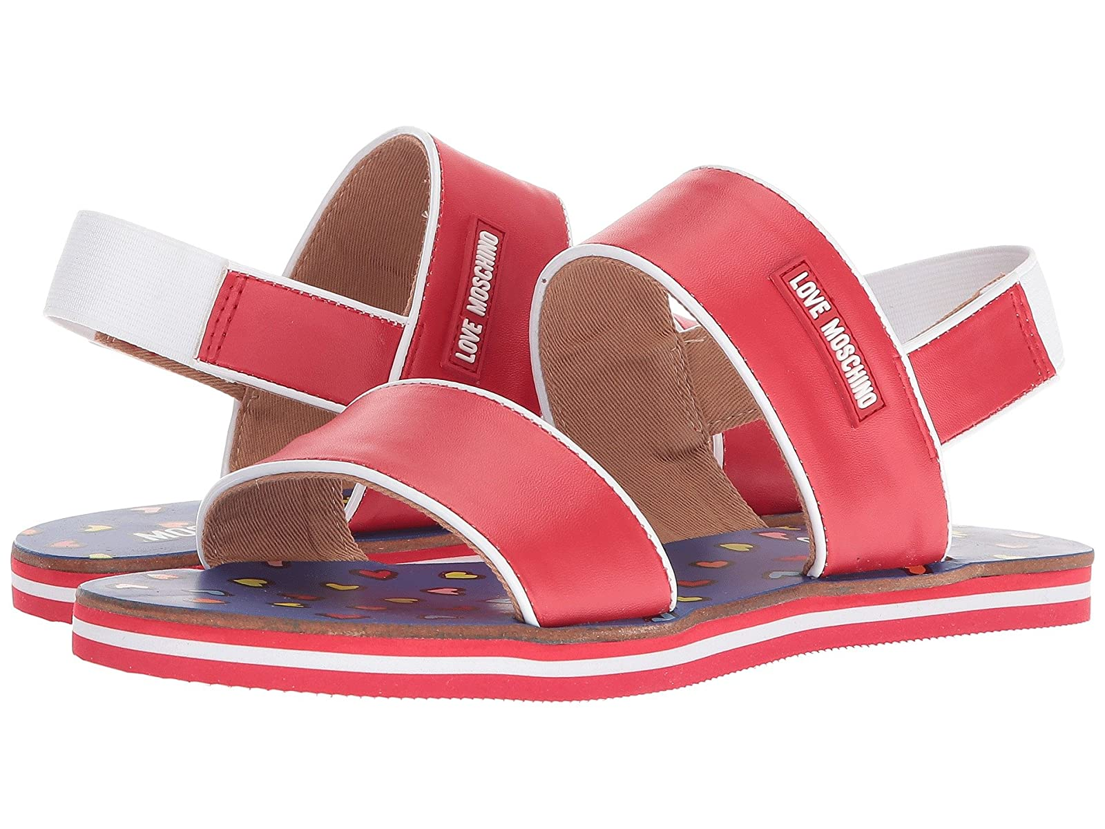 LOVE Moschino SandalAtmospheric grades have affordable shoes