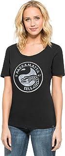 Parramatta Eels '47 Lux Sequins Runback Scoop, Black