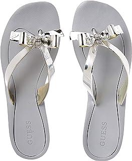 GUESS Tutu9 Women's Shoes, Silver (Silver/Multicolor SIMSY), 40 EU