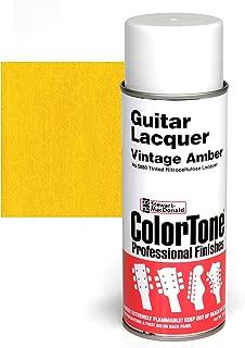 ColorTone Tinted Aerosol Guitar Lacquer, Vintage Amber