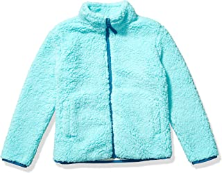 Girl's Polar Fleece Lined Sherpa Full-Zip Jacket