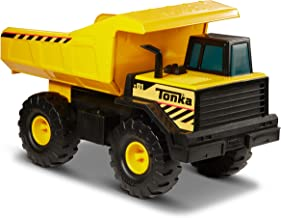 Tonka Classic Steel Mighty Dump Truck Vehicle, Single, Standard Packaging