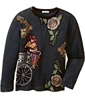 Dolce & Gabbana Kids - City Carretto Rose T-Shirt (Toddler/Little Kids)