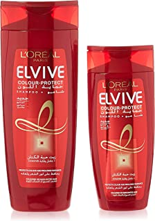 LOREAL Elvive Color Protect Shampoo - 400ml+200 ml