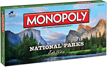 Monopoly National Parks Edition Board Game | Themed National Park Game | Buy, Sell & Trade Iconic Parks Like Yellowstone &...
