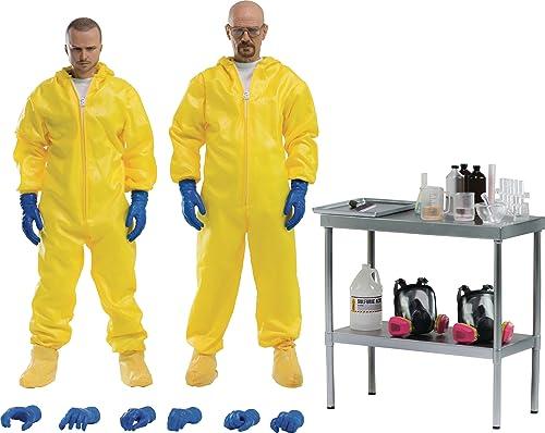 ThreeZero Breaking Bad  Heisenberg & Jesse Traje de projoección Combo 1  6Escala Figura de acción