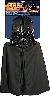 Rubies 1198 - Máscara de Darth Vader y cabo, oficial de Disney Star Wars, one tamaño, para niños