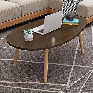 CJDM Table Basse Moderne, Table d'appoint économique pour Petit Appartement Nordique, Table Basse de Salon et de Chambre, ...