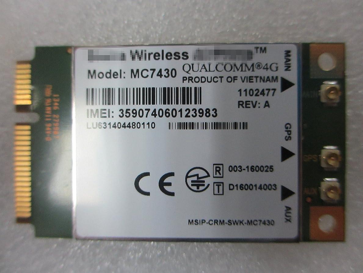 能力慢性的拮抗するMC7430 MINI PCIE ネットワークカード 4G LTE Cat-6 Cat-3 モバイル?バンド