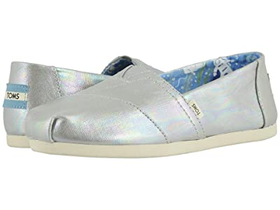 TOMS Alpargata 3.0 (Drizzle Grey Metallic Canvas) Women